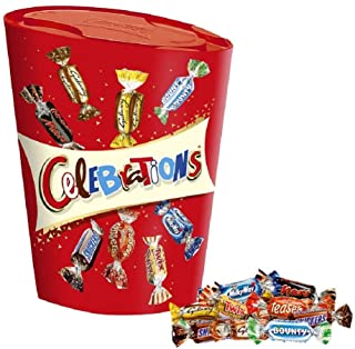 Celebrations Large Chocolate Box, (Maltesers, Galaxy, Snickers and More) 380 g