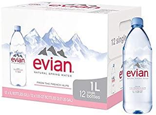 Evian Still Mineral Water,12x1L