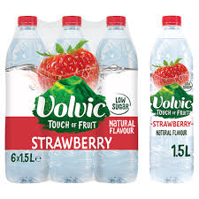 Volvic flavoured water